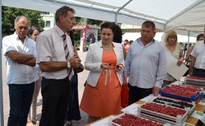 Министър Танева:  Малинопроизвоството е включено в про ...