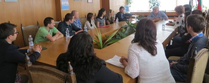 Денчо Бояджиев се срещна с представители на фондация � ...