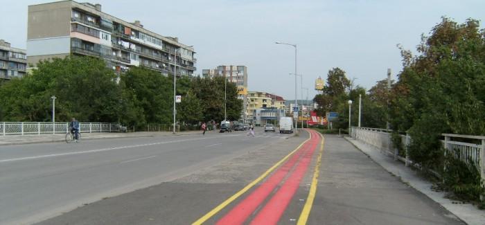 Нова велоалея се появи в централната част на Разград