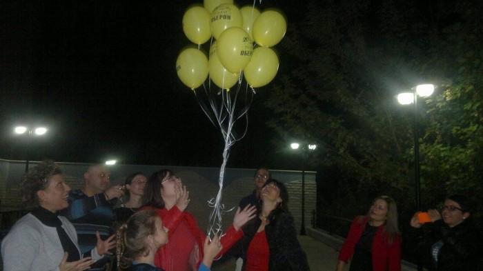 20 балона ОБЕРОН полетяха в небето
