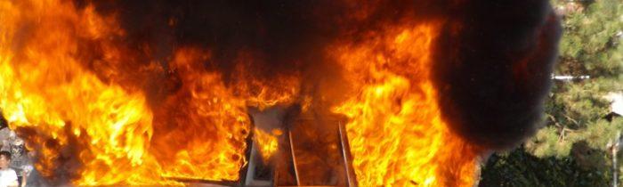 Мъж бере душа с 50% изгаряния след пожар в дома му