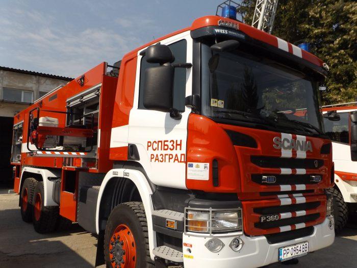 Пожар горя в необитаема къща в Ясеновец