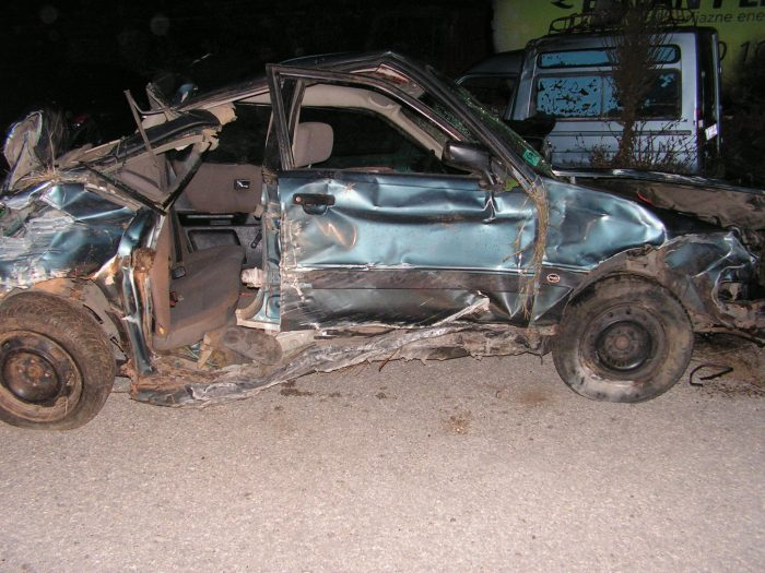 Пиян шофьор погуби спътник в катастрофа до Киченица