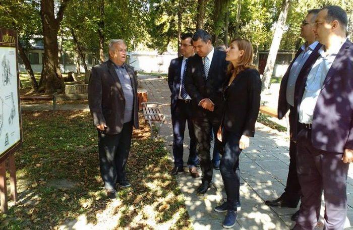 Министърът на туризма Николина Ангелкова посети Архео ...