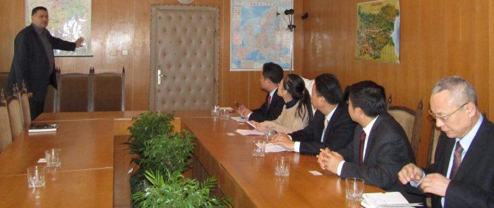 Градоначалникът д-р Василев прие седемчленна китайска ...