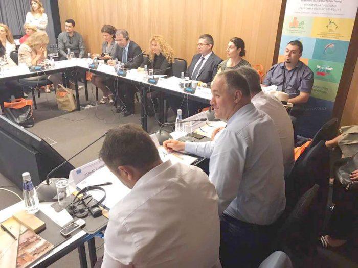 """В заседание на Комитета за наблюдение на ОП """"Региони в ..."""