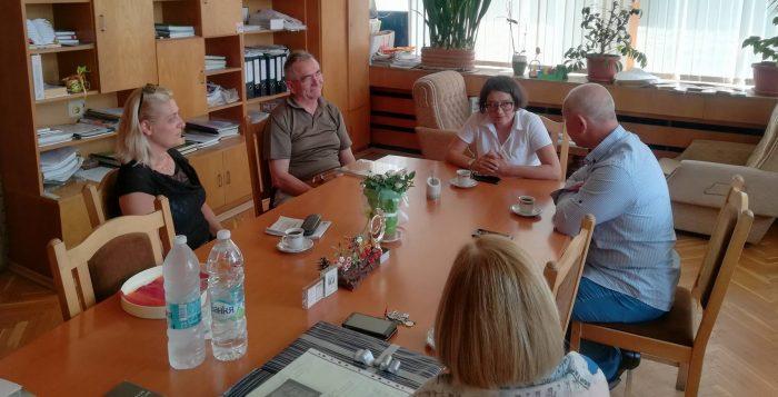 Ръководството на Община Разград се срещна с представи� ...
