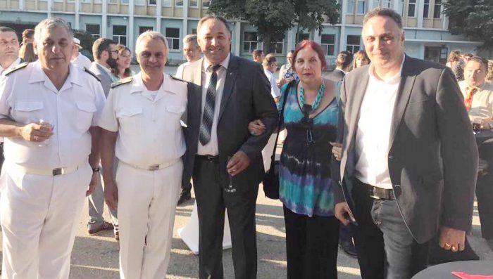 Областният управител бе гост на прием по случай Национ ...