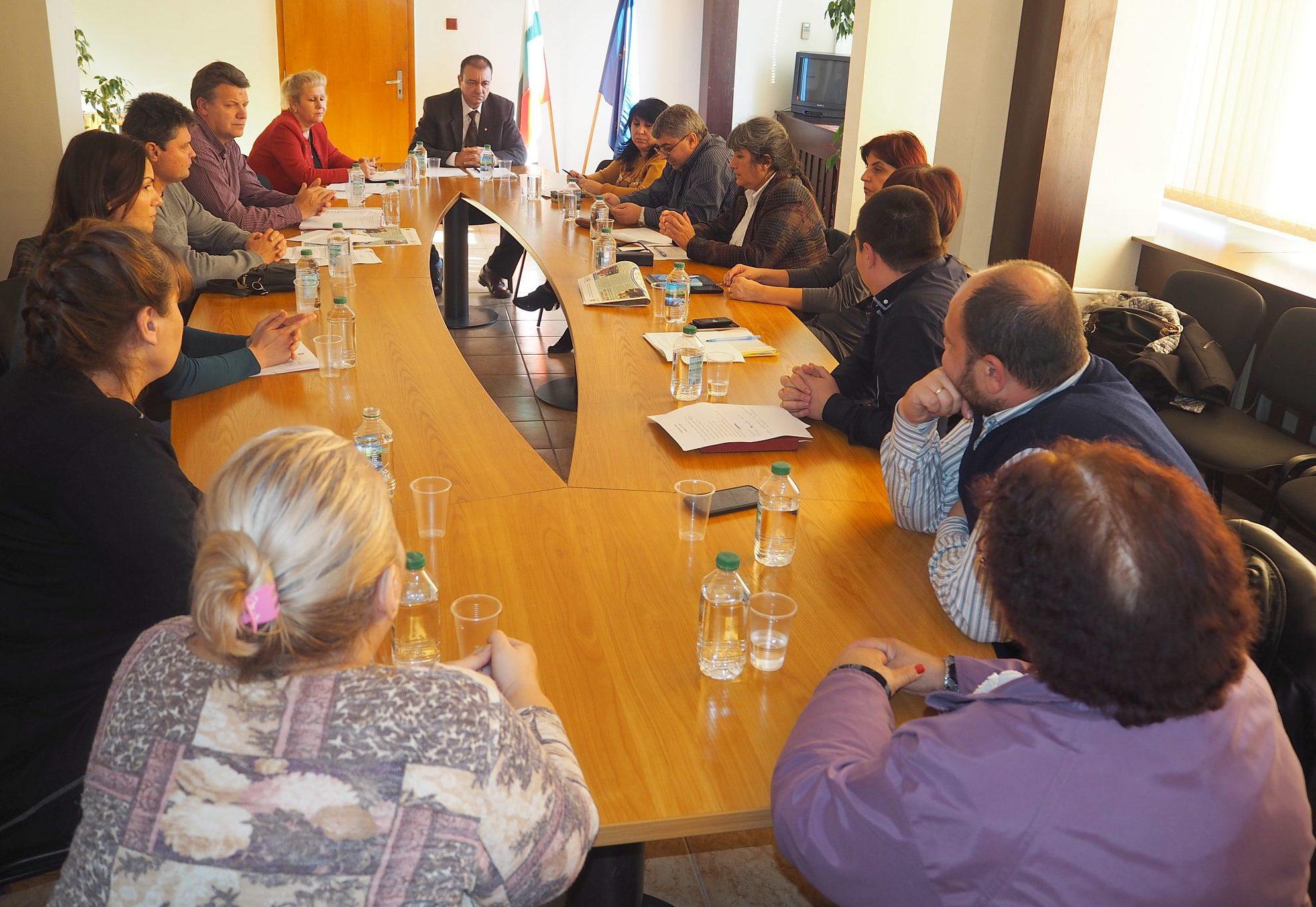 В Областна администрация-Разград обсъдиха дейностите  ...