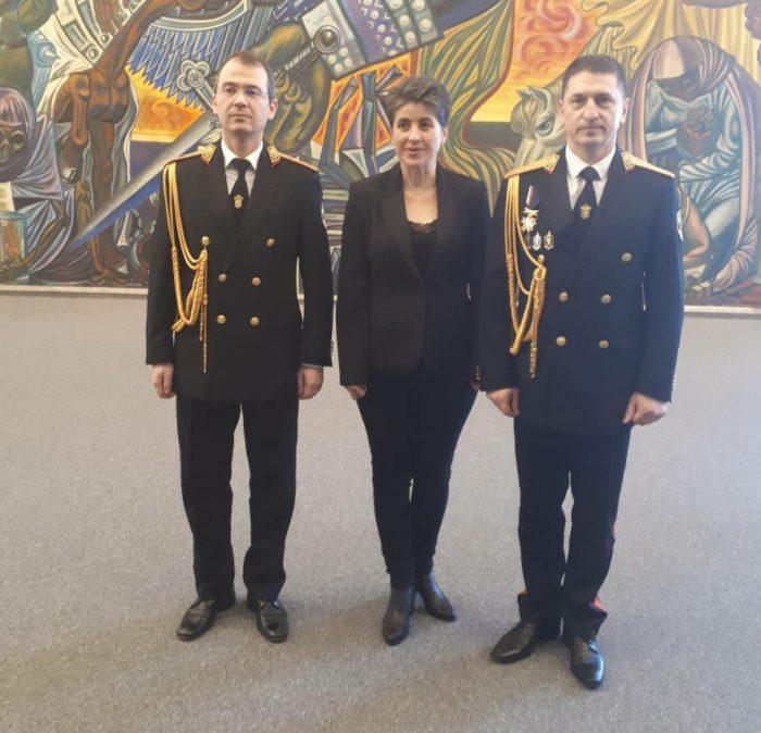 """аградата """"Граждански принос"""" в конкурса """"Полицай на  ..."""