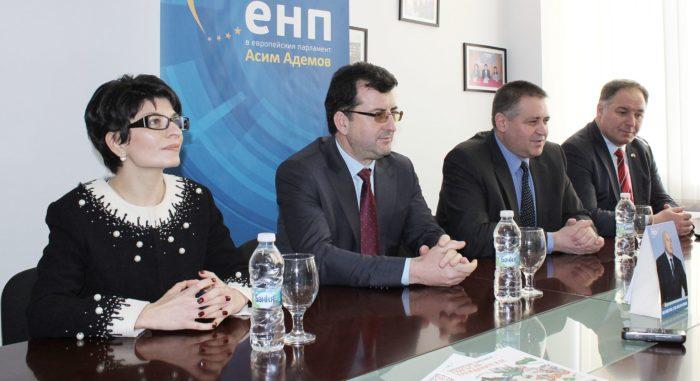 Областният управител поздрави евродепутата от ЕНР/ГЕР ...