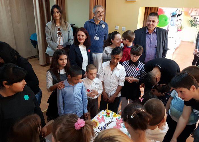 Д-р Валентин Василев и заместниците му бяха гости на 14-� ...