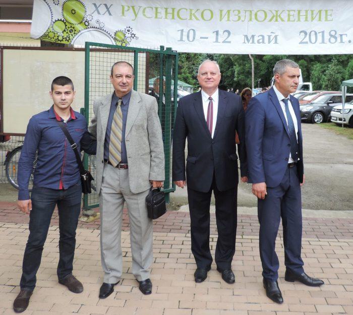 Заместник областният управител Евгени Драганов бе гос ...