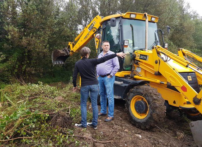 Кметът д-р Валентин Василев инспектира почистването о� ...