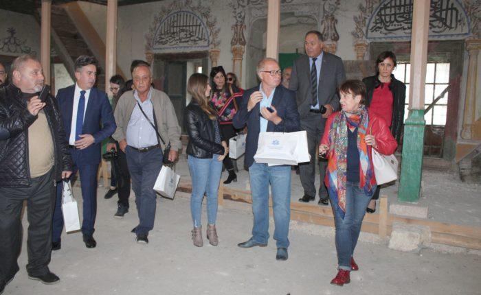 """Журналисти от Одрин и Текирдаг посетиха джамията """"И ..."""