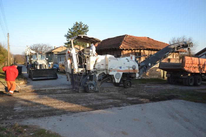 Започна рехабилитацията в населените места в Разград,  ...