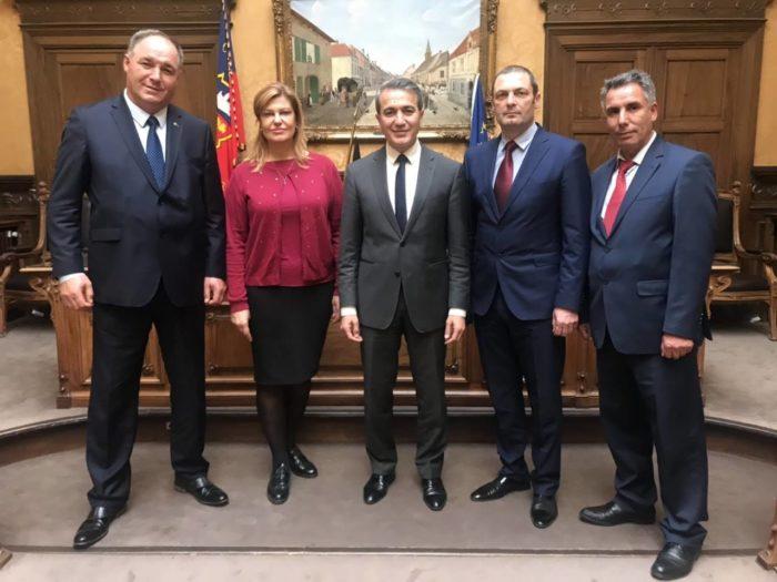 Областният управител бе на двудневна визита в Брюксел, ...
