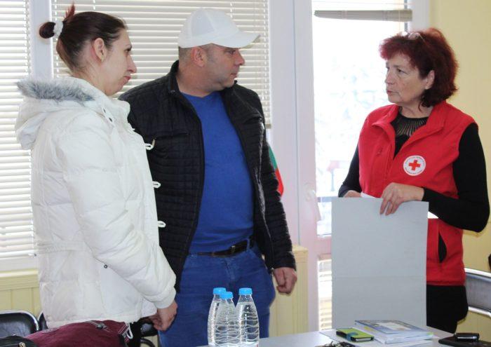 БЧК Разград подпомогна финансово пет деца, пострадали  ...