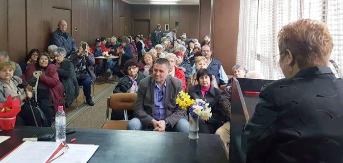 Д-р Валентин Василев бе гост на отчетно събрание на Общ ...