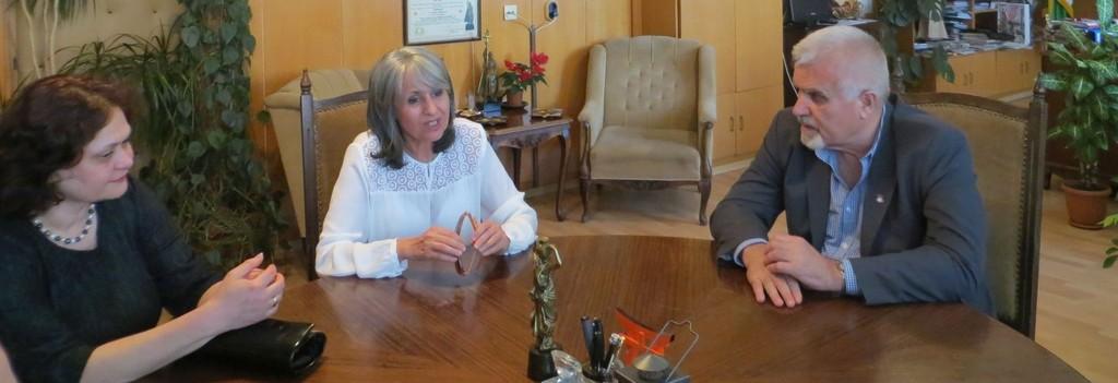 Денчо Бояджиев се срещна с вицепрезидента Маргарита П� ...