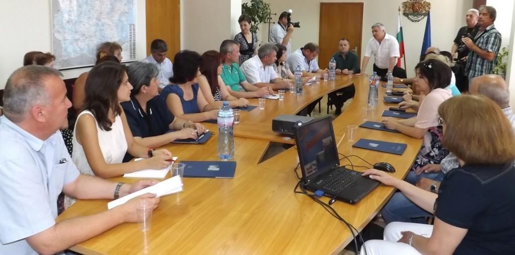 В Областна администрация Разград се проведе среща на т ...