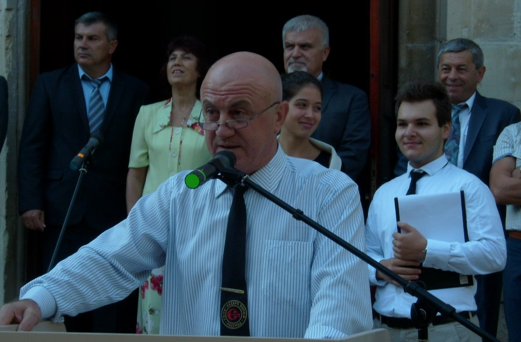 Кметът Денчо Бояджиев откри новата учебна година в ГПЧ ...