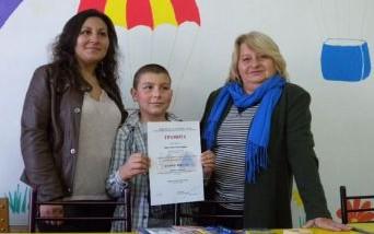 Кристиян Светлозаров от Разград с втора награда от нац ...