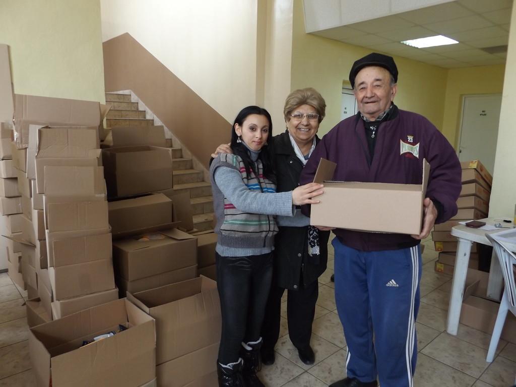 314 социално слаби диабетици се сдобиха с пакети с храни ...