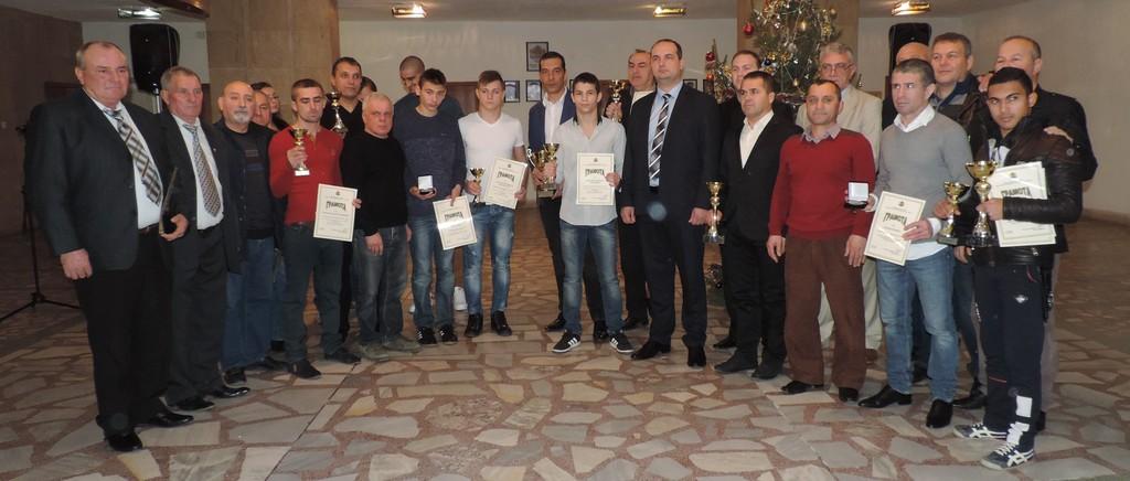 За 14-ти път наградиха най-добрите спортисти на Разград� ...
