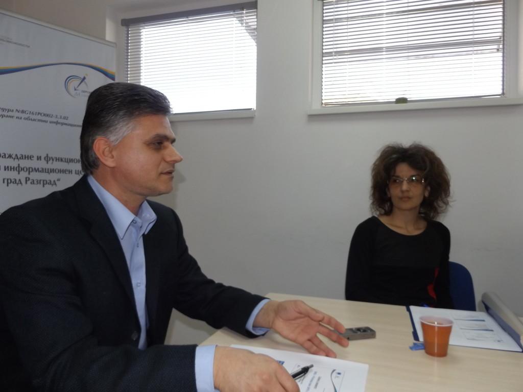 Екипът на ОИЦ-Разград се срещна с медиите