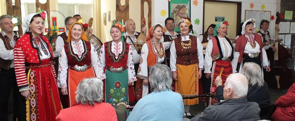 Артистите от Капанския ансамбъл гостуваха в Старчески ...