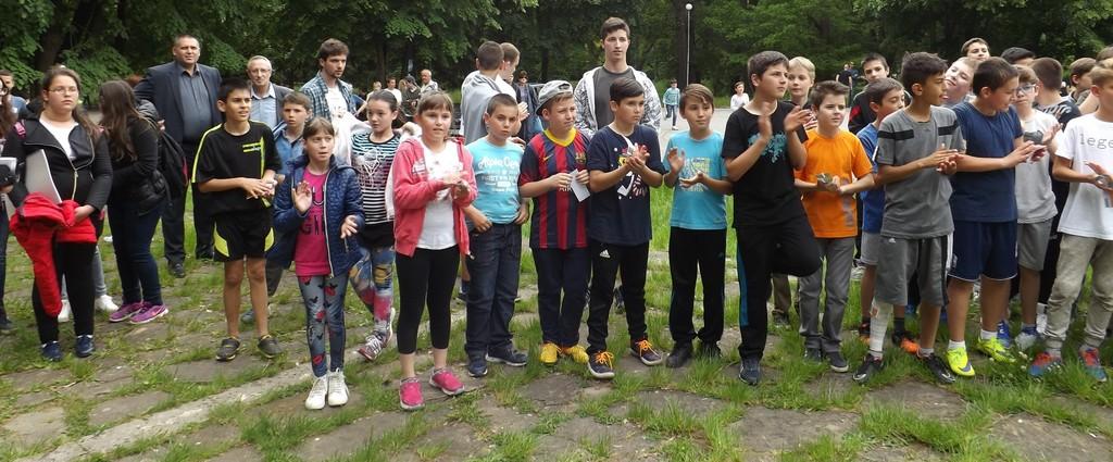 170 деца се включиха в Световния ден на предизвикателст� ...