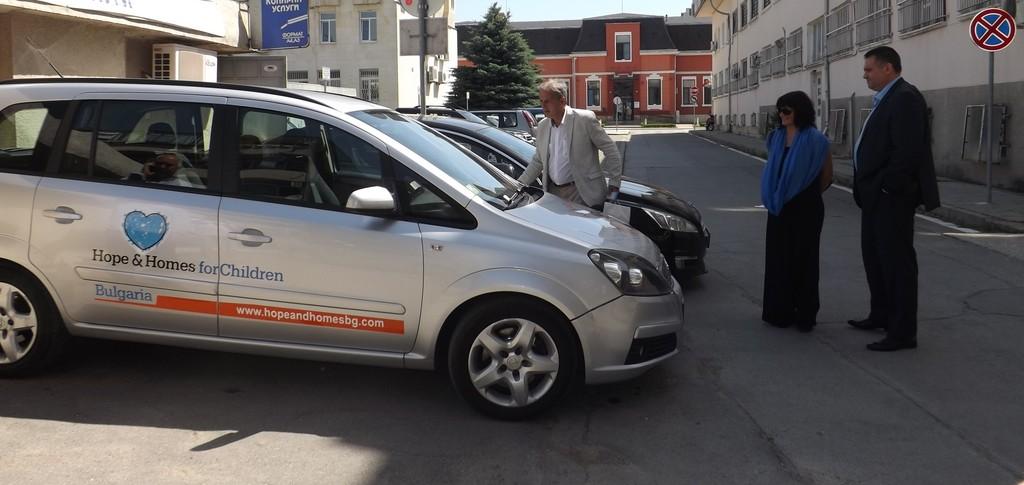 Дневният център за деца с увреждания в Разград получи � ...