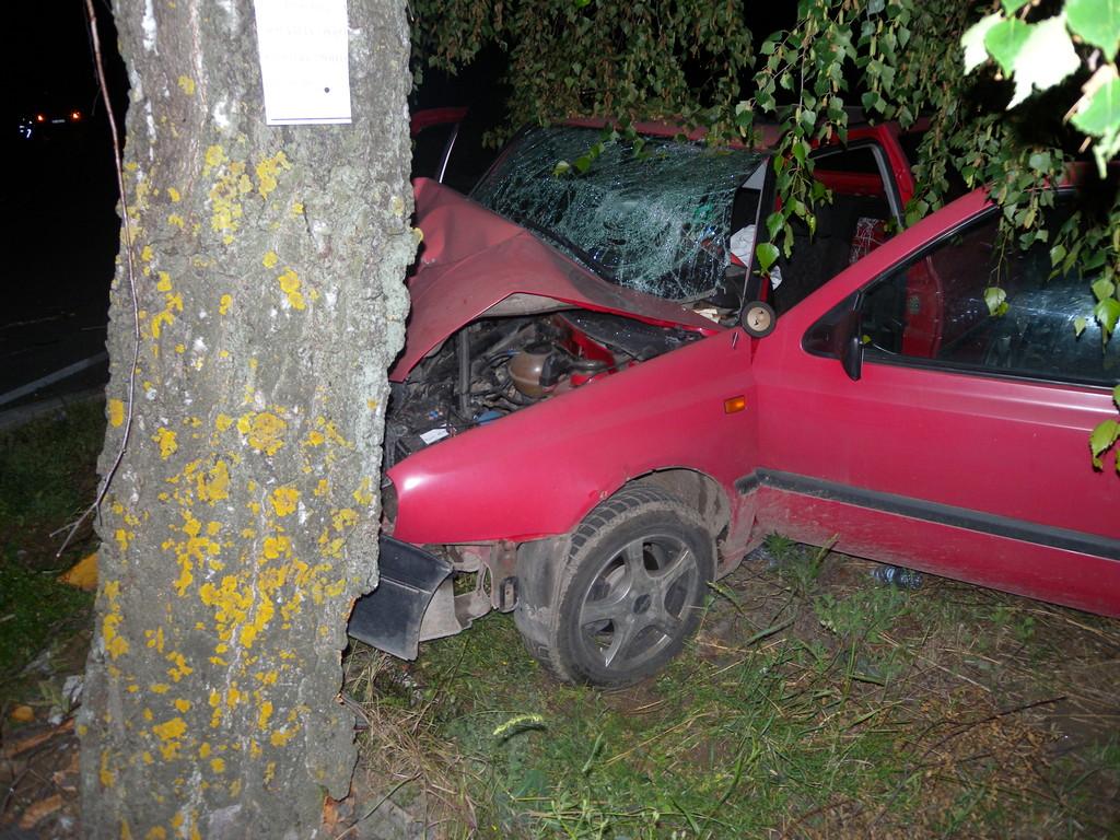 Пиян се блъсна в дърво, пострада и 13-годишната му довед� ...