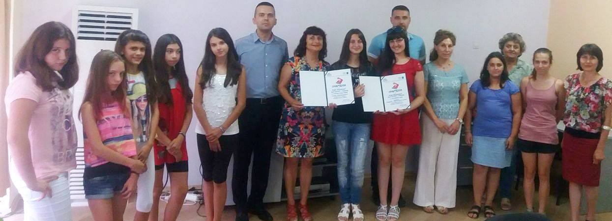 Екип на Царебродската телевизия посети ЦУТНТ, за да вр� ...