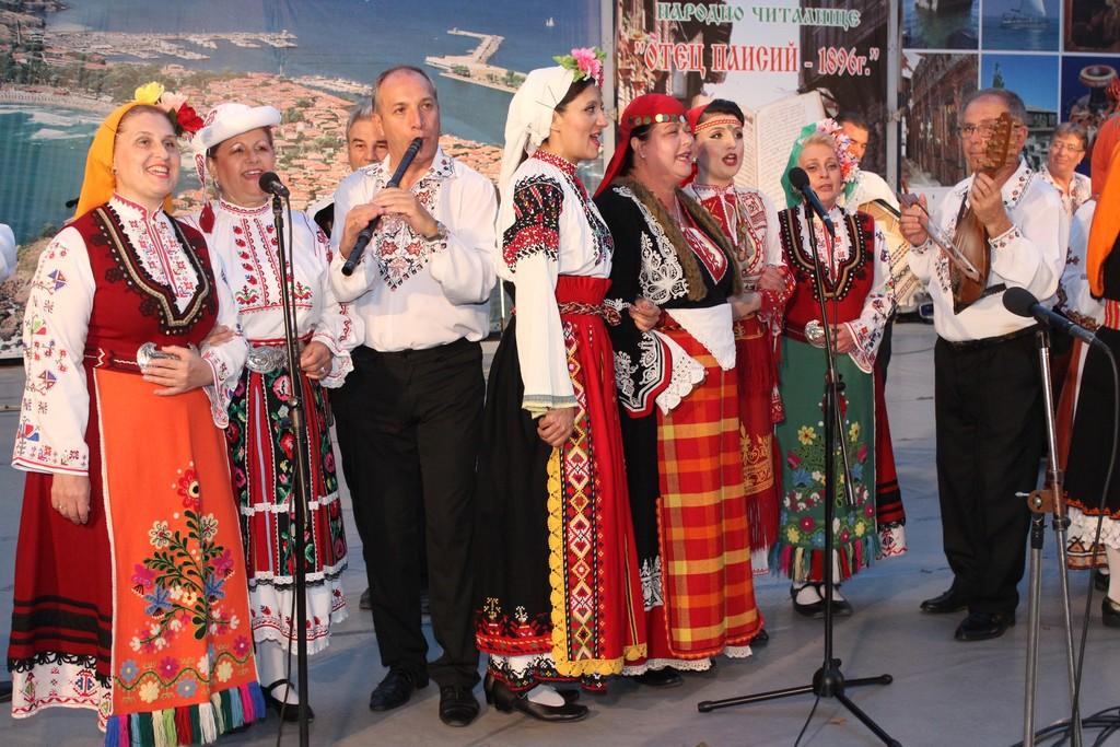 Созопол празнува с концерт на Капанския ансамбъл