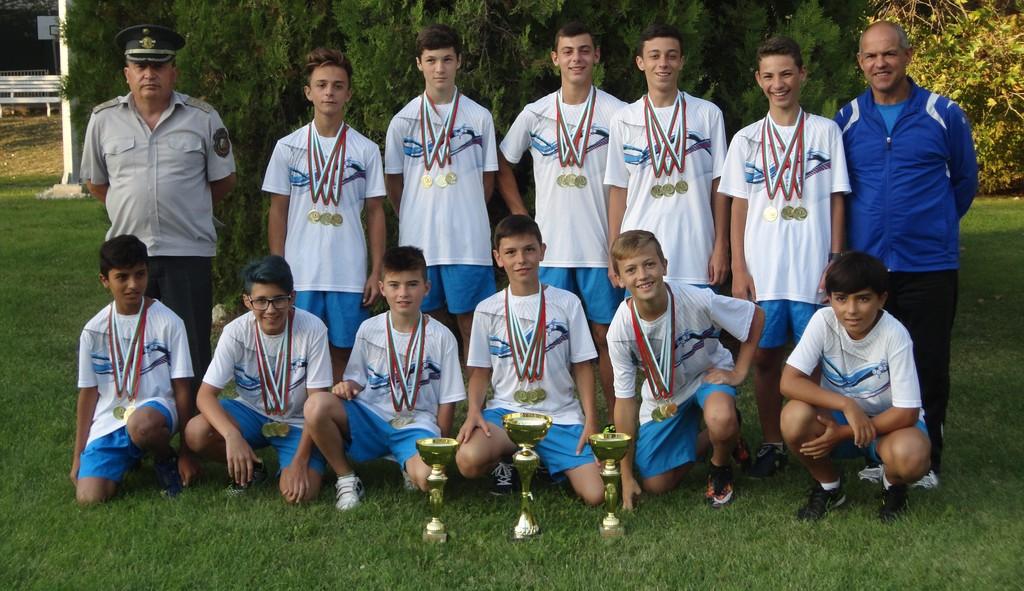 Отборът на Разград – републикански шампион в състезан ...