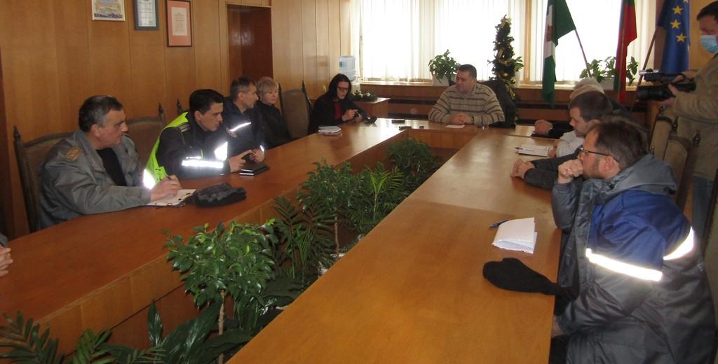 Градоначалникът свика заседание на Общинския щаб за б� ...
