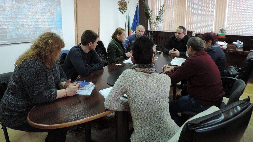 Областният управител Манол Кившанов проведе работна с ...