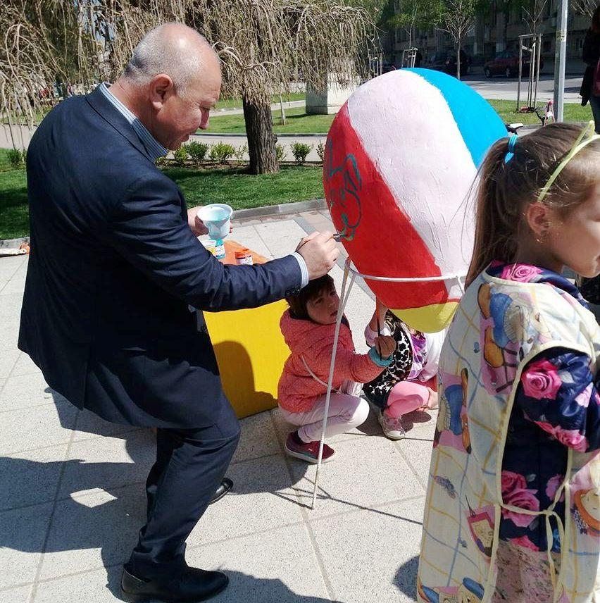 Великденски багри навръх Велики четвъртък в Разград