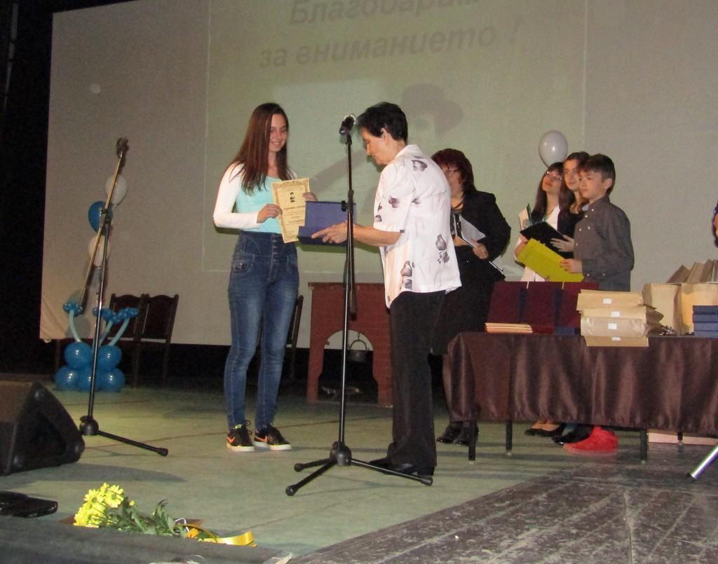 Победителите в Петия национален ученически журналист� ...