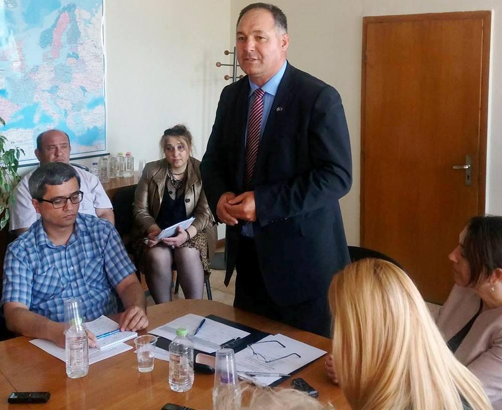 Новият областен управител ще работи за ускореност на р ...