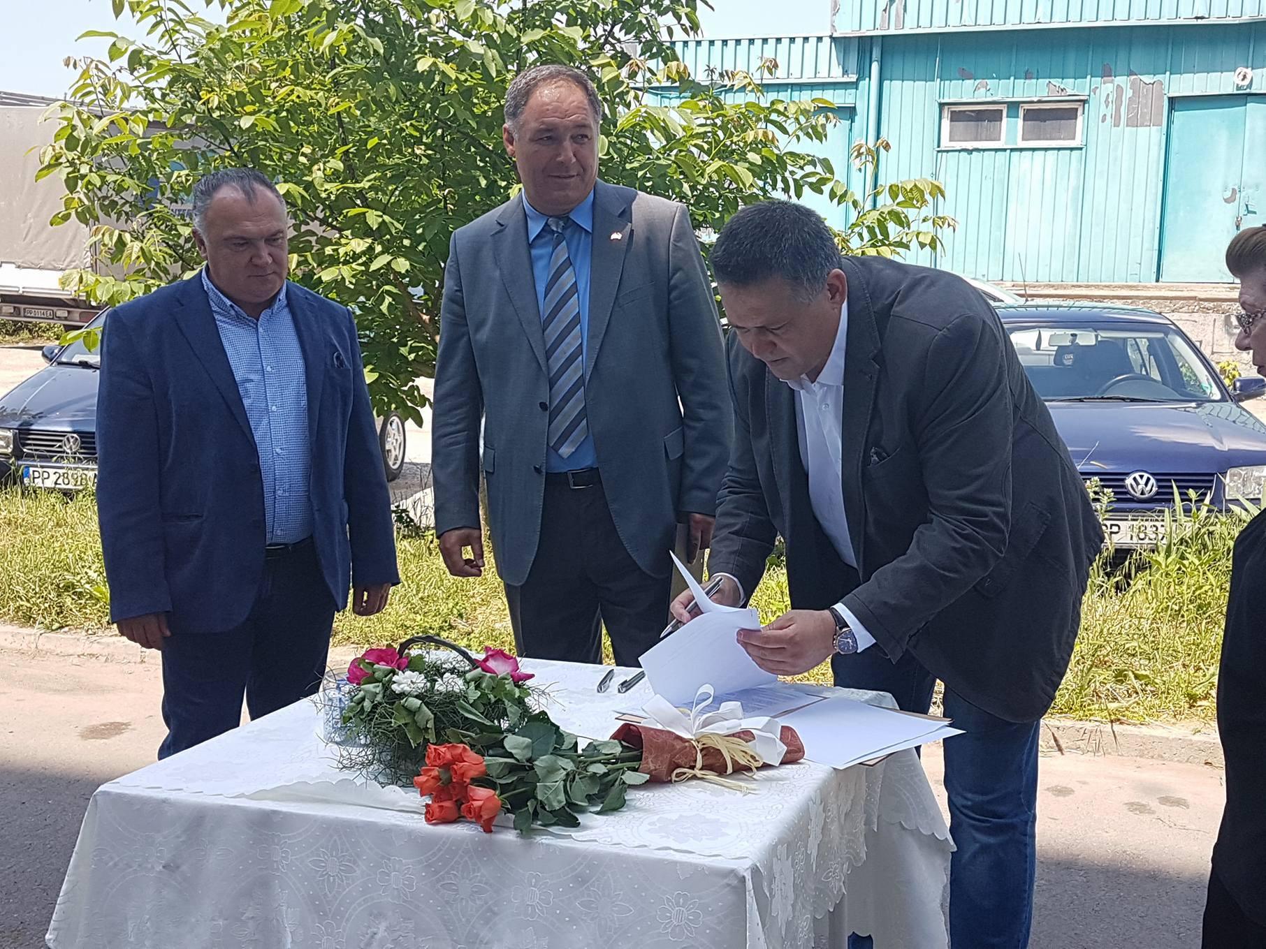 Кметът на Община Разград откри строителна площадка на  ...