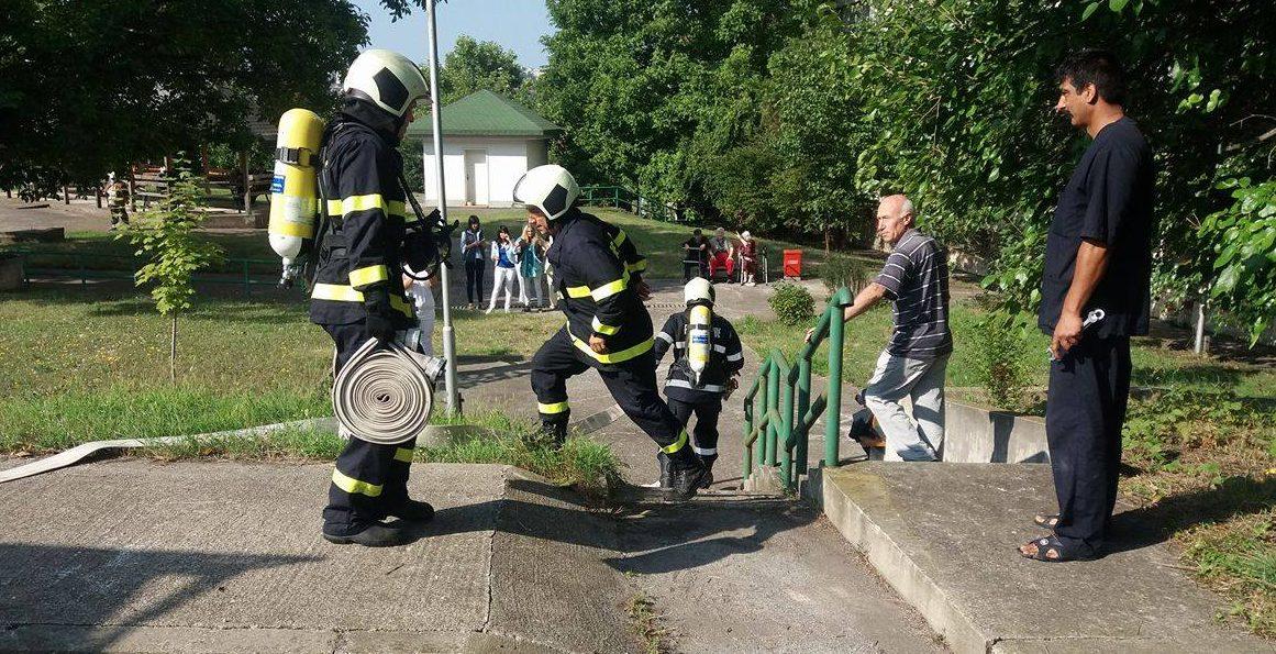 Евакуация при пожар проиграха в Дома за стари хора в Ра ...