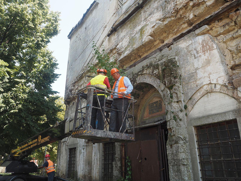 """Стартира почистването на джамията """"Магбул Ибрахим па� ..."""