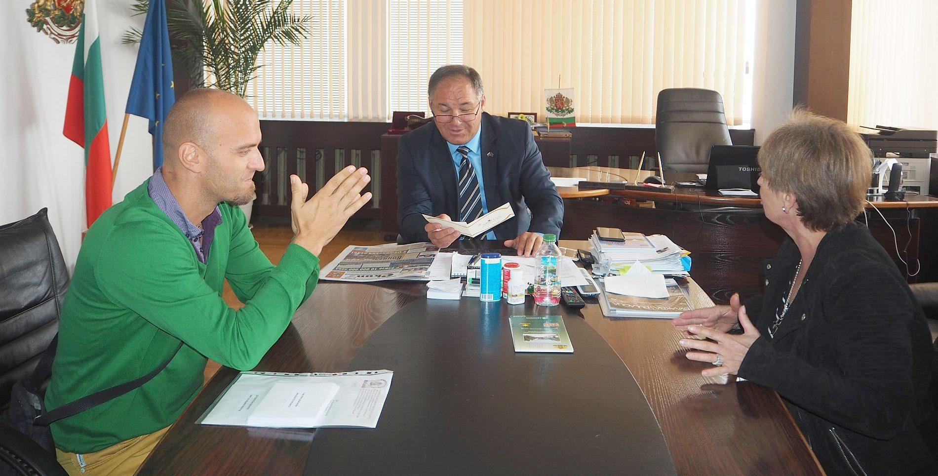 Областният управител се срещна с представители на Рег� ...