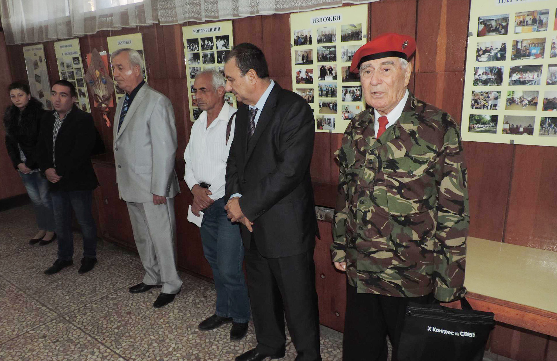 Заместник областният управител Евгени Драганов откри  ...