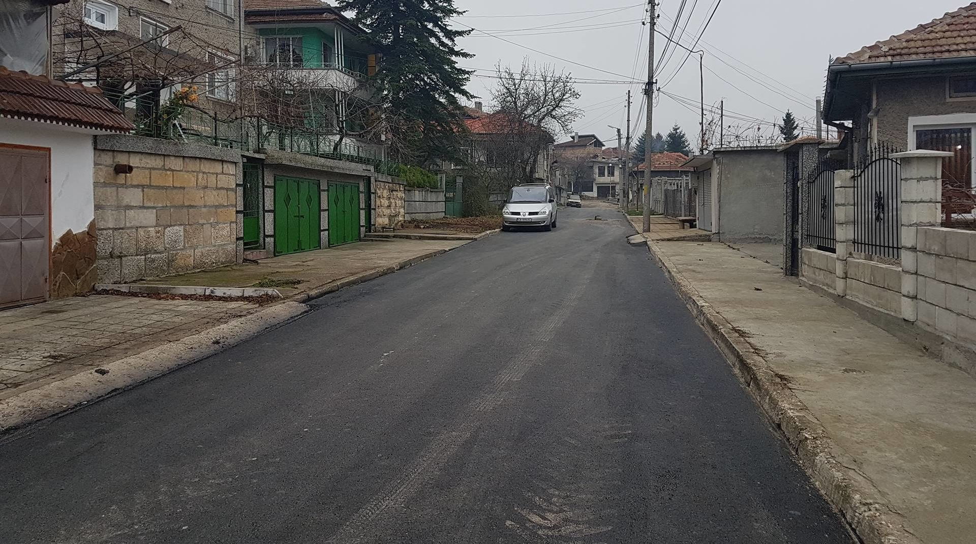 Още две асфалтирани улици и нови паркоместа за инвалид ...