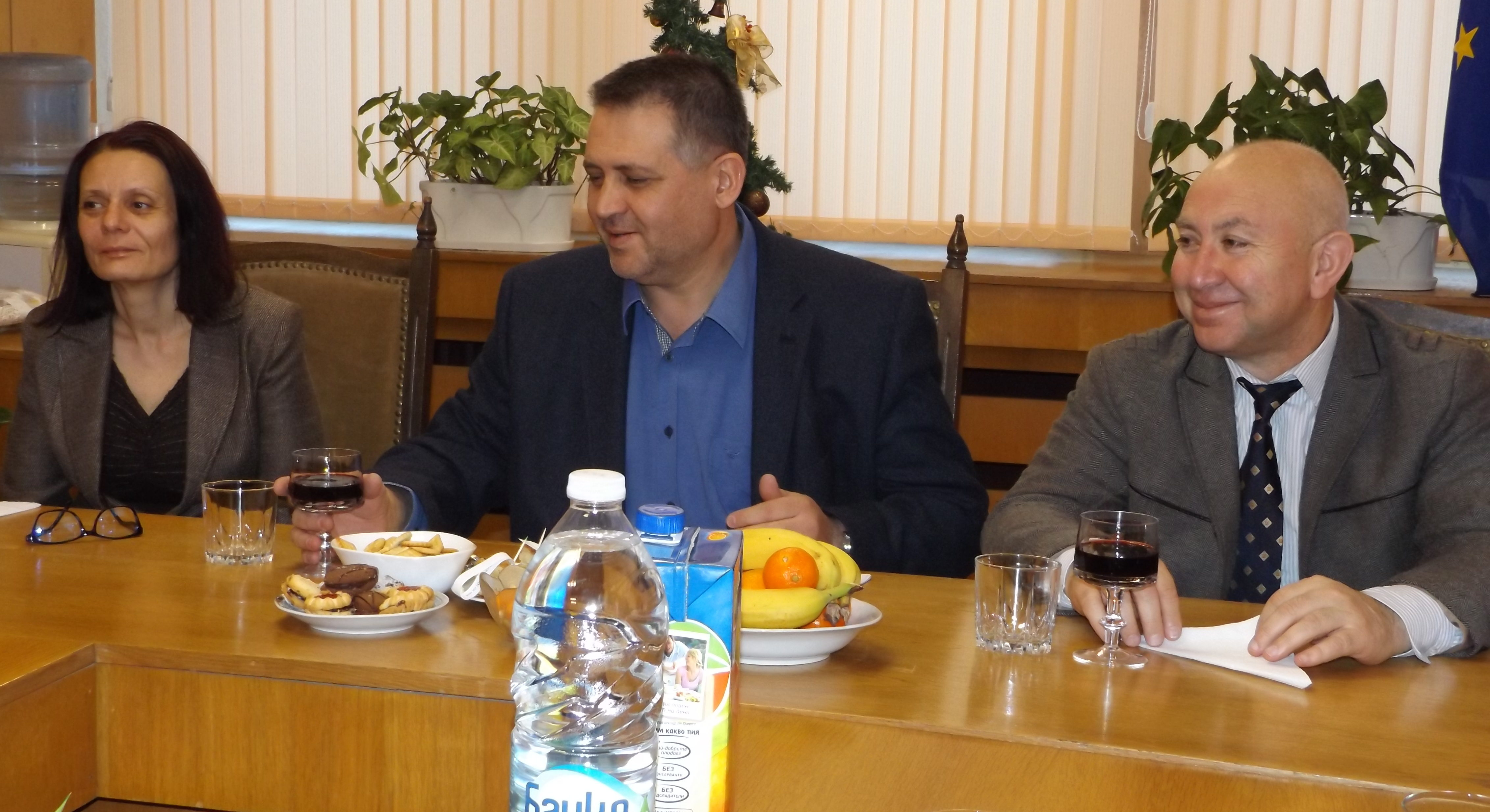 Общинското ръководство в Разград отчете свършеното пр ...