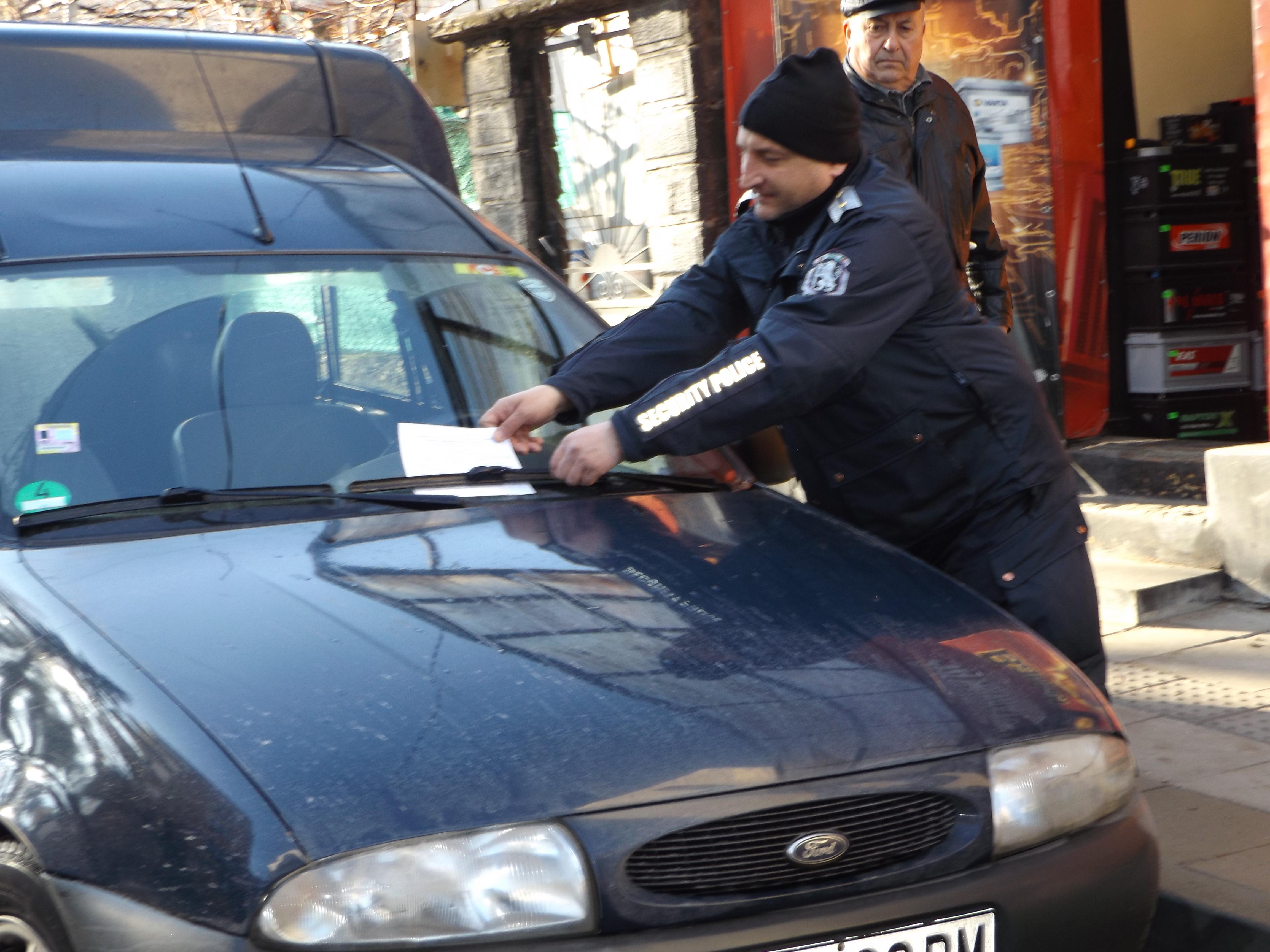 Заради наглото паркиране в центъра на Разград, полиция ...